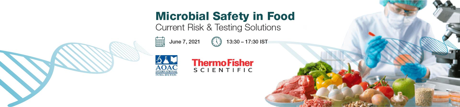 Web Conference on Food Pathogen Detection
